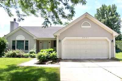 Lisle Single Family Home Price Change: 2551 Woodcliff Court