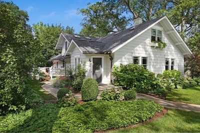 Hinsdale Single Family Home New: 30 South Oak Street