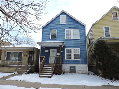Chicago IL Multi Family Home For Sale: $44,950