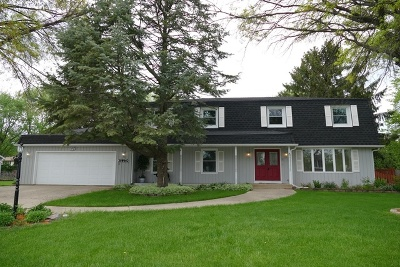 Wheatland View Single Family Home Price Change: 28w462 Leverenz Road