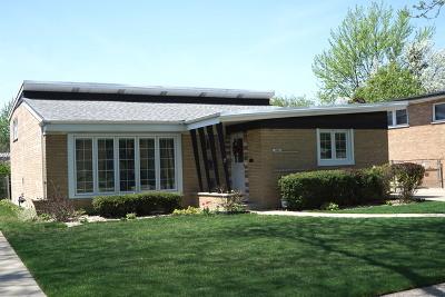 Oak Lawn Single Family Home New: 10604 Kedvale Avenue