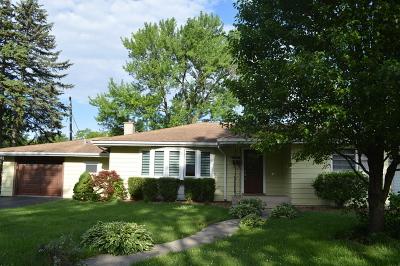 Chicago Ridge  Single Family Home For Sale: 10816 Monitor Avenue