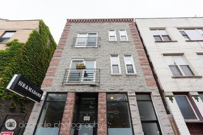 Condo/Townhouse For Sale: 938 North Damen Avenue #2F