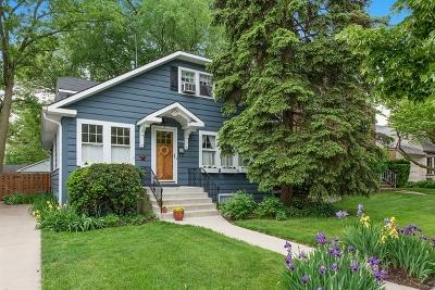 Wilmette Single Family Home For Sale: 1725 Wilmette Avenue