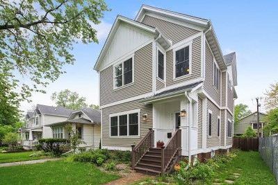 Naperville Single Family Home For Sale: 231 North Mill Street