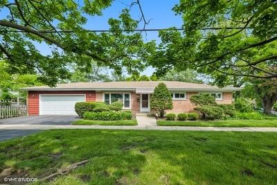 Wilmette Single Family Home For Sale: 500 Hibbard Road