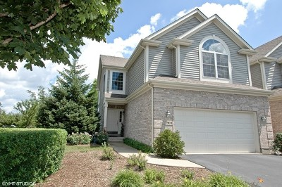 Lake In The Hills Condo/Townhouse For Sale: 3900 Willow View Drive