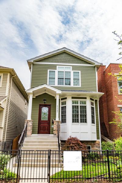 Single Family Home New: 2427 West Winona Street