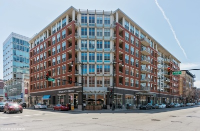 Chicago Condo/Townhouse For Sale: 1001 West Madison Street #313