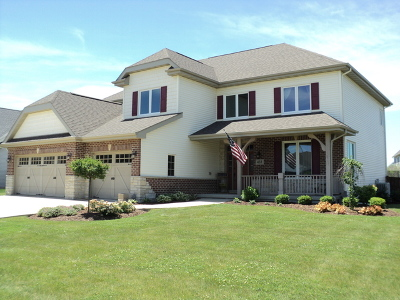 Minooka, Channahon Single Family Home Price Change: 433 East Frontier Drive
