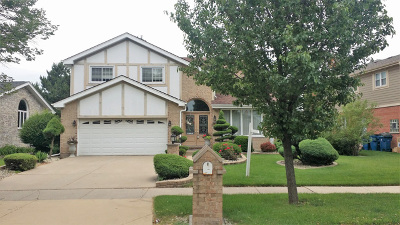 Addison Single Family Home For Sale: 1379 North Rosebud Lane