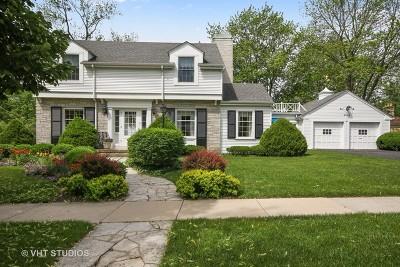 Flossmoor Single Family Home For Sale: 2036 Evans Road