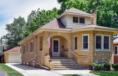 La Grange Park Single Family Home For Sale: 627 North Brainard Avenue
