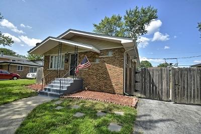 Oak Forest Single Family Home Price Change: 16484 Brenden Lane