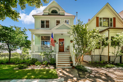 Single Family Home For Sale: 2017 West Bradley Place