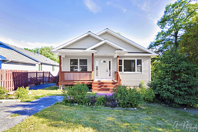 Round Lake Single Family Home For Sale: 24511 West Clinton Avenue