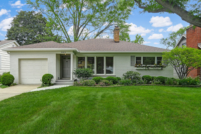 Western Springs Single Family Home New: 3925 Franklin Avenue