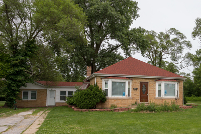Tinley Park Single Family Home For Sale: 7006 171st Street