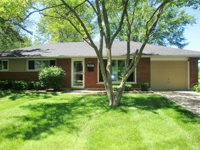 Arlington Heights Single Family Home New: 534 West Ridge Court