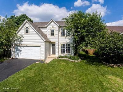 Romeoville Single Family Home New: 35 Kentland Drive