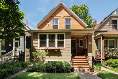Oak Park Multi Family Home For Sale: 829 North Lombard Avenue