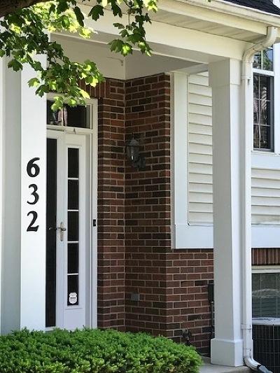 Palatine Rental New: 632 North Hidden Prairie Court