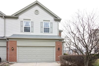 Streamwood Condo/Townhouse For Sale: 1437 Yellowstone Drive