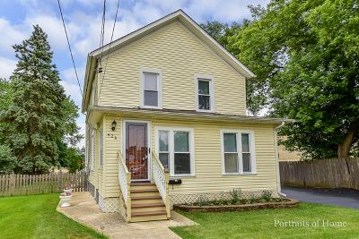 Batavia Single Family Home For Sale: 628 First Street