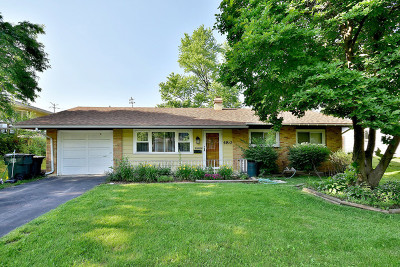 Hoffman Estates Single Family Home New: 480 Northview Lane