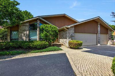 Homer Glen Single Family Home For Sale: 12800 West Beaver Den Trail