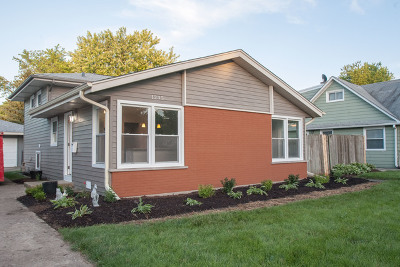 West Chicago  Single Family Home For Sale: 1235 Bishop Street