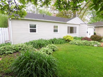 Carpentersville Single Family Home New: 114 Ball Avenue