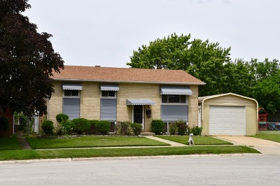 Alsip  Single Family Home For Sale: 3626 West Benck Drive