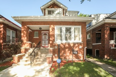Chicago IL Single Family Home New: $168,000