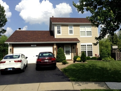 Plainfield Single Family Home New: 13661 South Jersey Court
