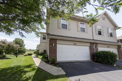 Romeoville Condo/Townhouse New: 660 Elizabeth Court