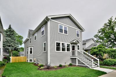 Oak Park Single Family Home New: 1019 South Scoville Avenue