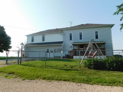 Ogle County Single Family Home New: 8388 South Brooklyn Road