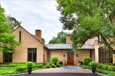 Lake Forest Single Family Home New: 1150 Lake Road