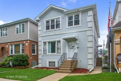 Chicago Single Family Home New: 6655 West Hayes Avenue