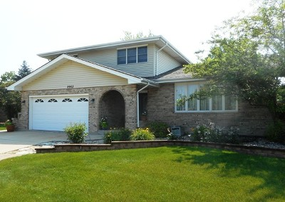 Tinley Park IL Single Family Home New: $334,900