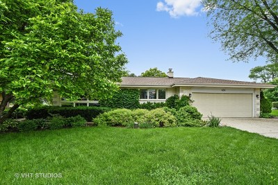 Schaumburg Single Family Home For Sale: 424 East Monterey Avenue
