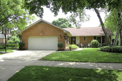 Palatine Single Family Home Price Change: 901 North Ventura Drive