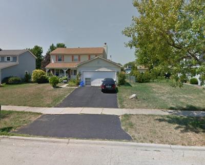 Bolingbrook Single Family Home New: 321 Homestead Drive