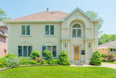 Niles Single Family Home New: 7933 North Oconto Avenue