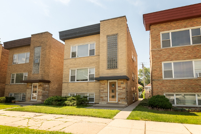 Elmwood Park Multi Family Home For Sale: 7925 West Belmont Avenue