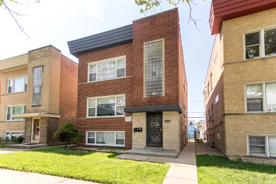 Elmwood Park Multi Family Home For Sale: 7909 West Belmont Avenue