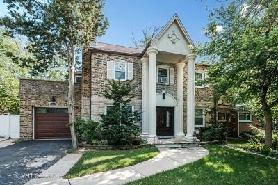 Wilmette Single Family Home New: 2501 Lake Avenue