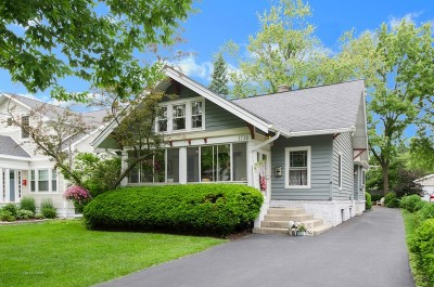 Glenview Single Family Home Price Change: 1736 Maclean Court