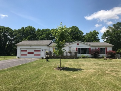 Ogle County Single Family Home New: 7300 South Rock Nation Road